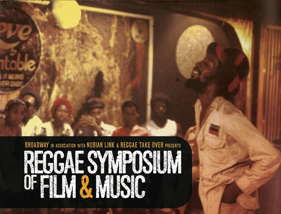 Broadway Reggae Symposium flyer