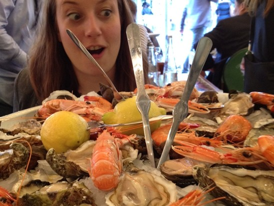 Seafood in Cannes