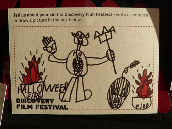 Audience feedback on Discovery festival
