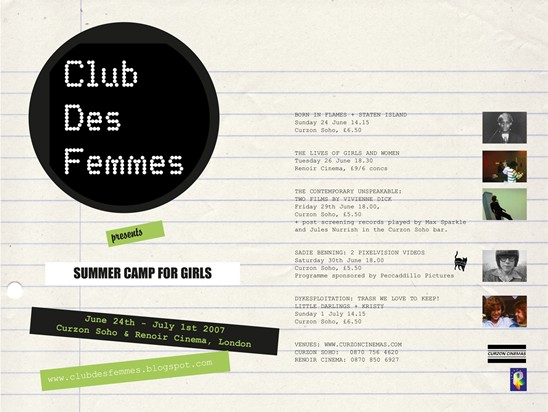 Club des femmes first event