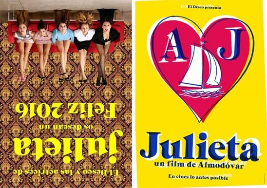 Julieta posters Cannes