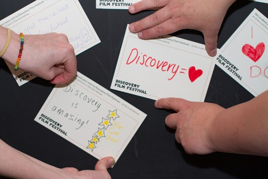 Discovery notecards