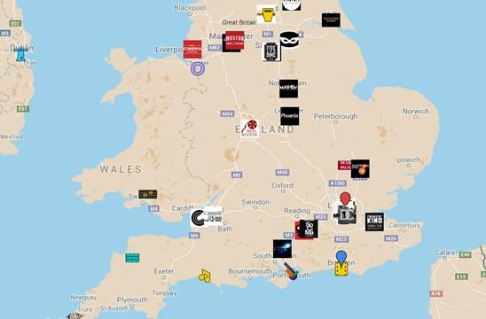 Scalarama 2015 map