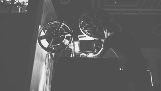 Overnight projector