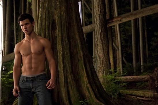 Taylor Lautner's torso. Phwoar.