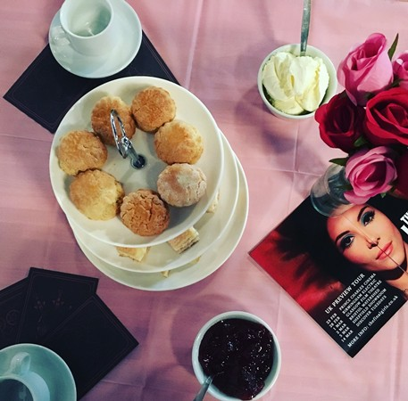 The Love Witch tea party at Sheffield Showroom
