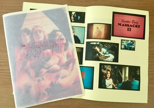 Slumber Party Massacre zine