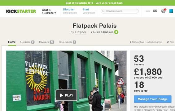 Flatpack Kickstart Campaign